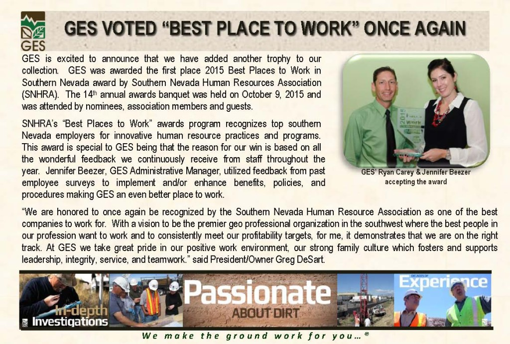 #1 Best Place to Work
